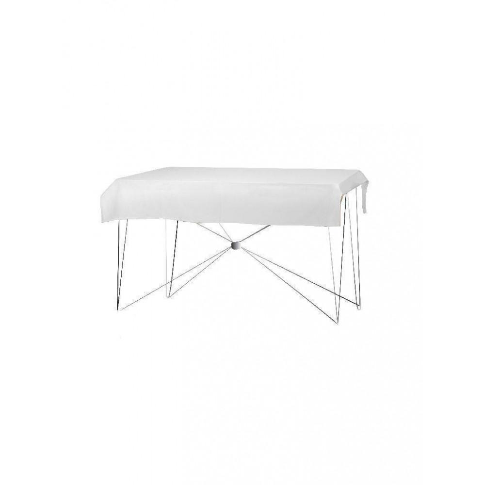 Tafelkleed - 190x130cm - Wit - Dena