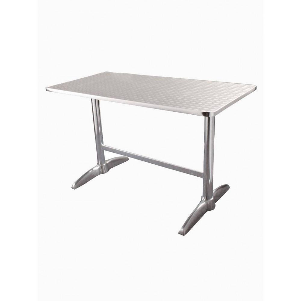 Bolero rvs tafel 120 x 60 cm| Horeca tafel