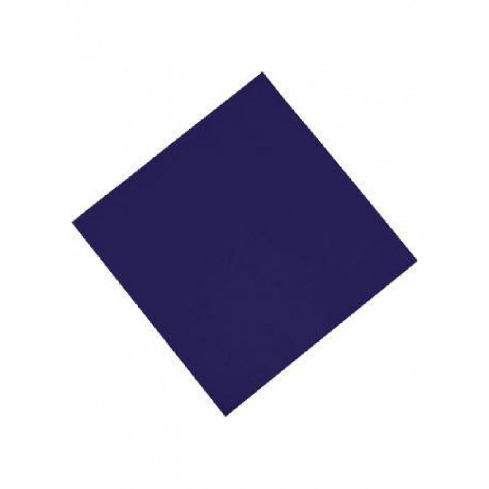 Professionele tissueservetten - Blauw - 33x33 cm - CK877
