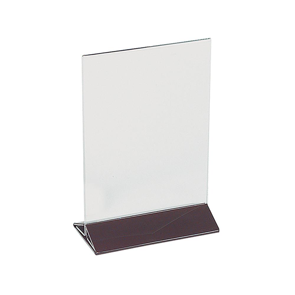 Menu Standaard - H 18 x 13 x 7 CM - 0.2 KG - plexiglas - Transparant - 880011