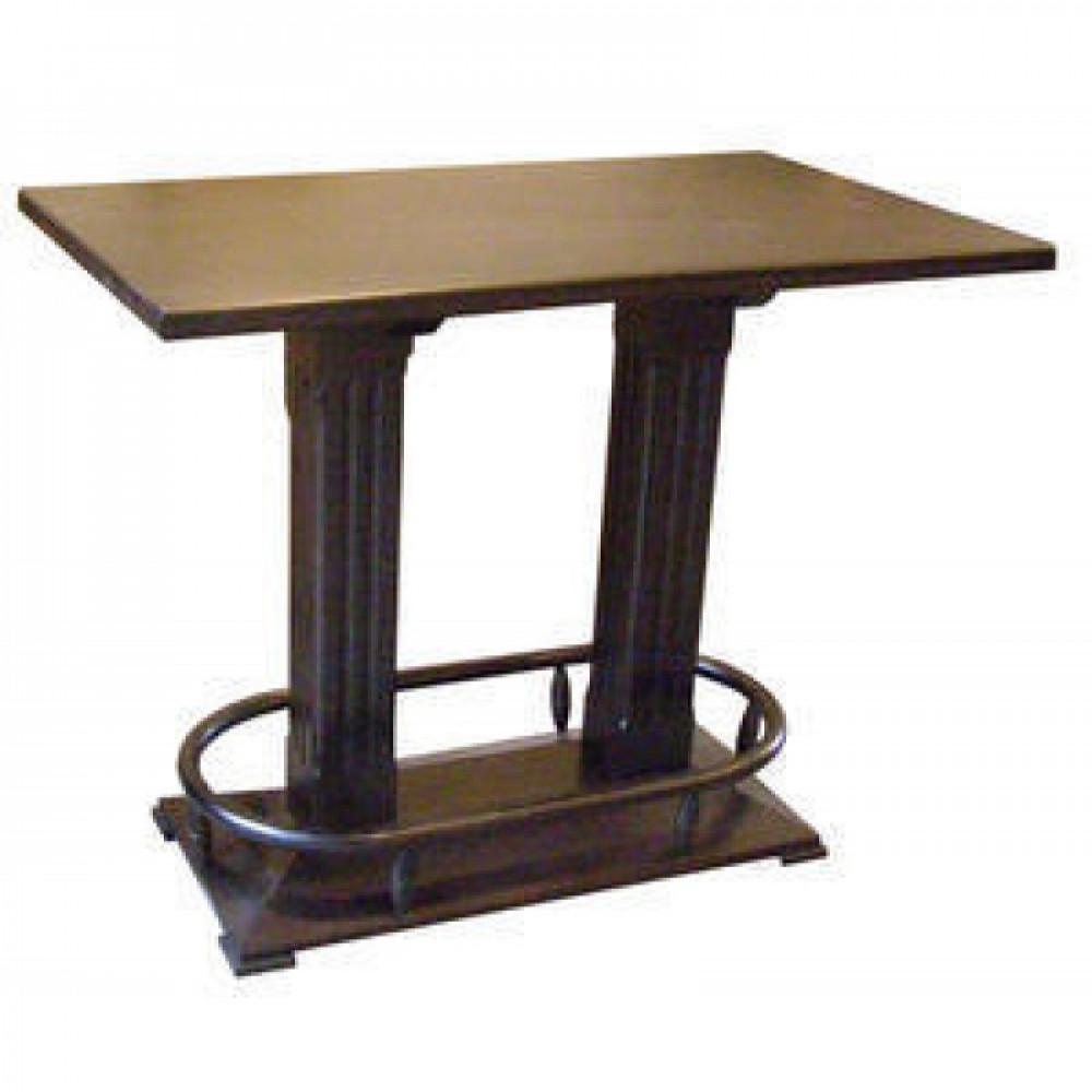 Pokertafel - Safari - Noten - 140x80cm
