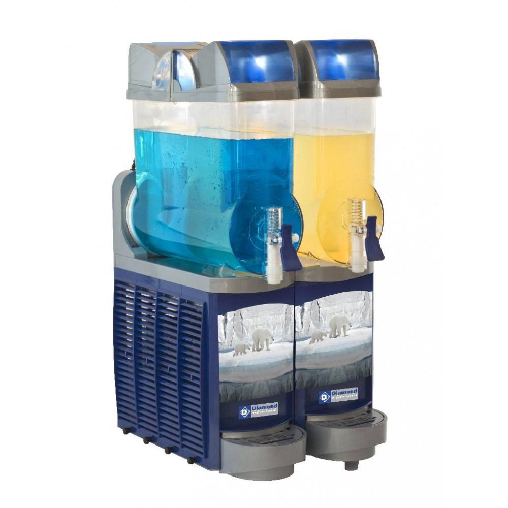 Koud drank dispenser - 2 x 14 liter - Led - DD14/2B - Diamond