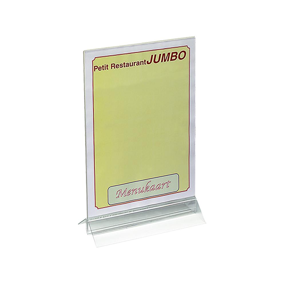Menu Standaard - H 34 x 21 x 8 CM - 0.3 KG - plexiglas - Transparant - 880015
