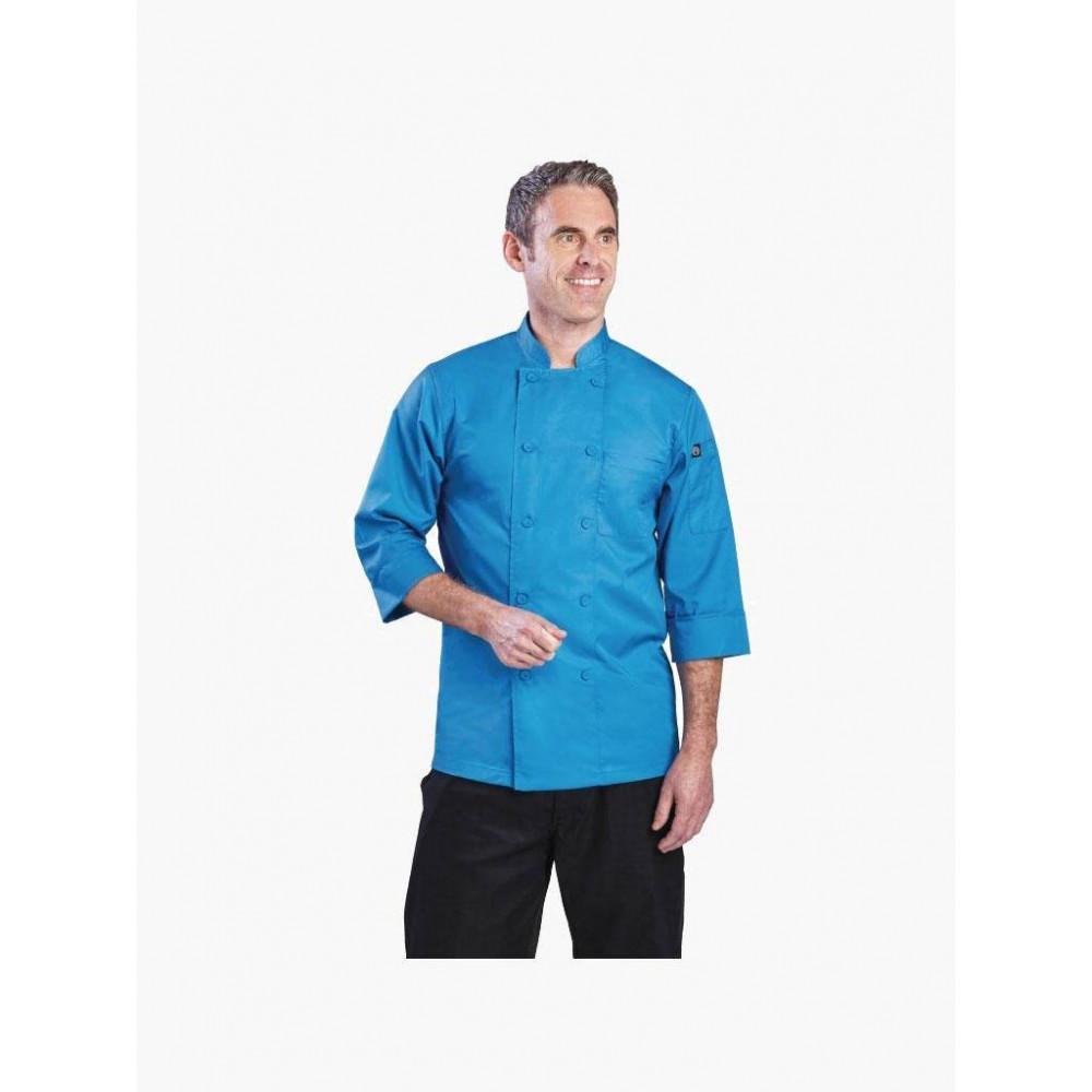Chef Works lite koksbuis blauw