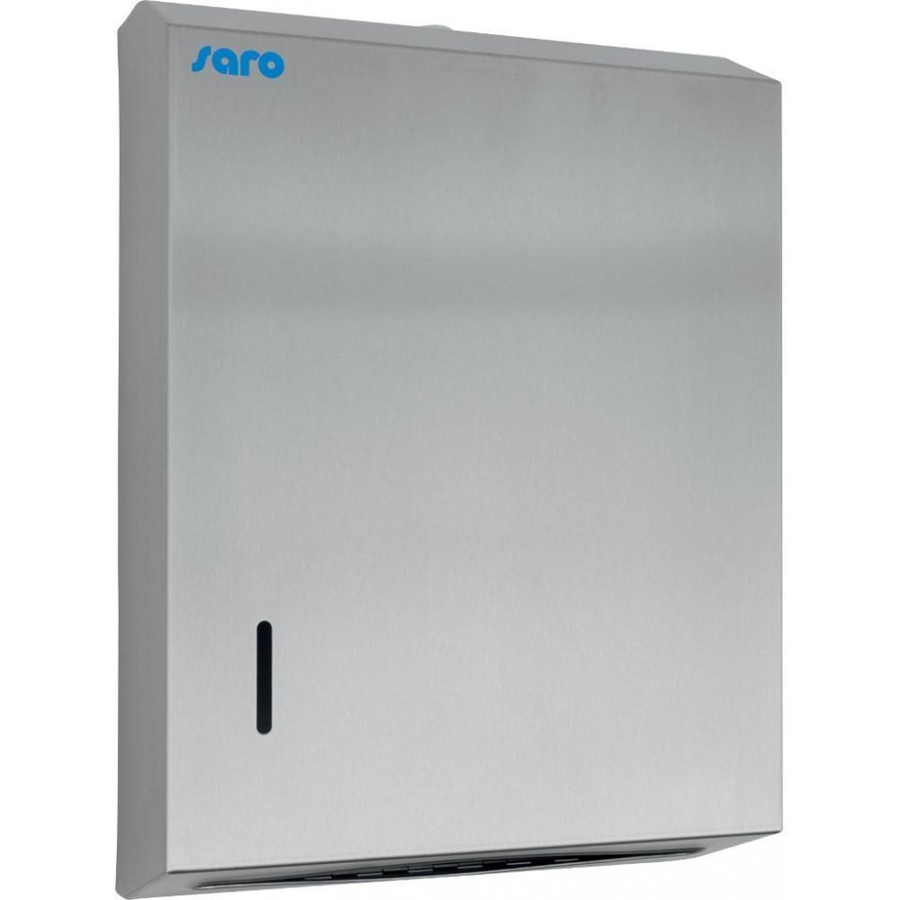 Hand papierdispenser - RVS - Saro - 298-1025