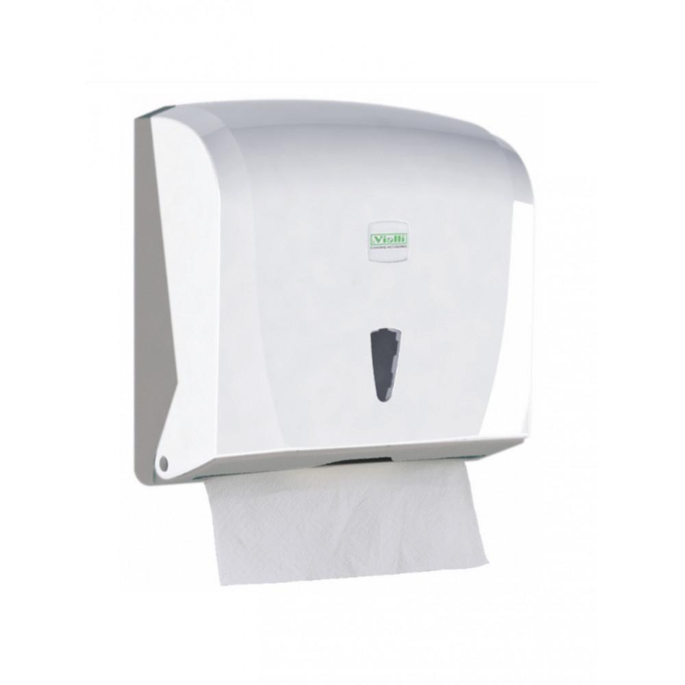 Dispenser Handpapier - Cleanline - C&V Vouw - H 24 x 25.5 x 12.5 CM - 59637