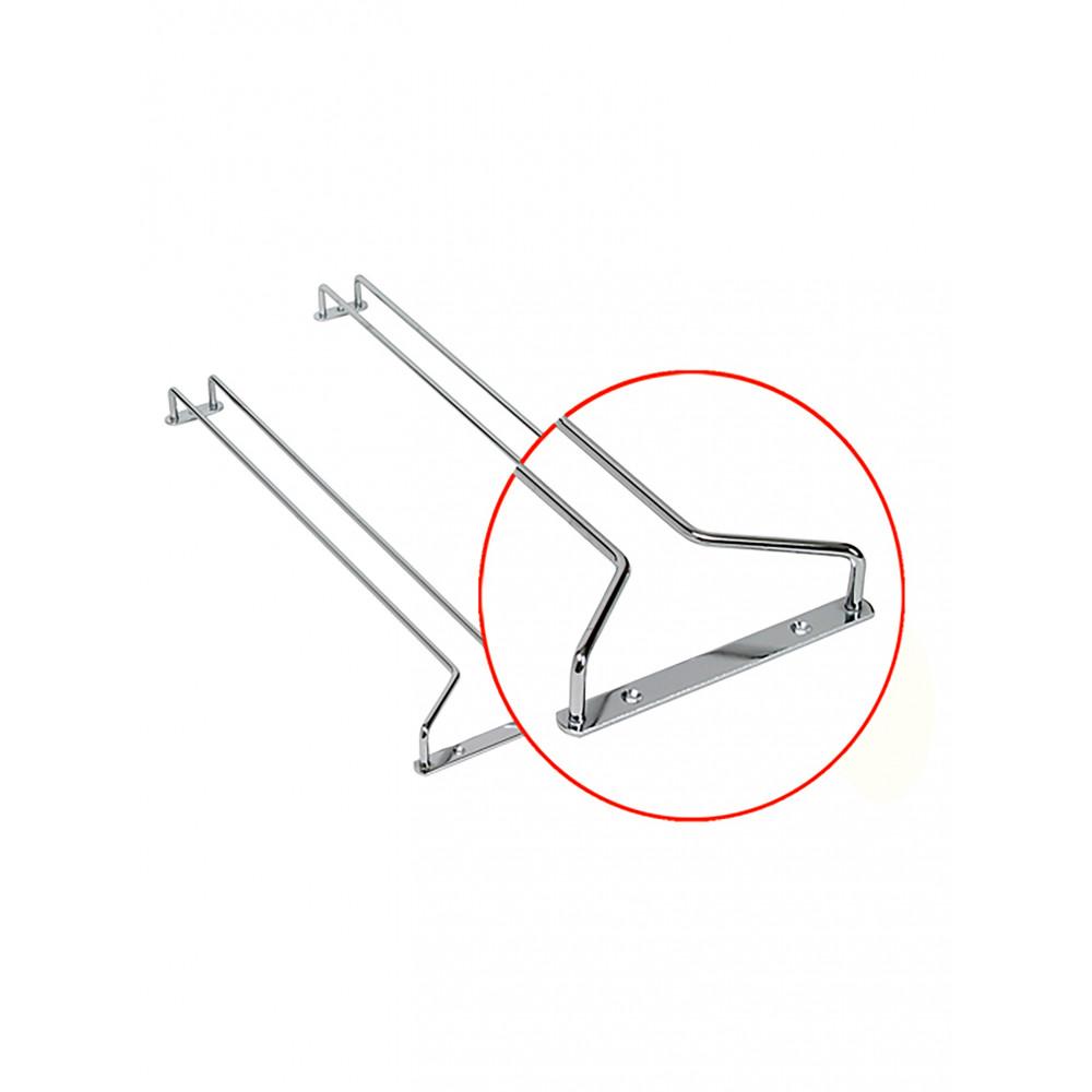 Glasophangrek - 30 CM - Chroom - 2 Stuks - Bar Professional - 525039