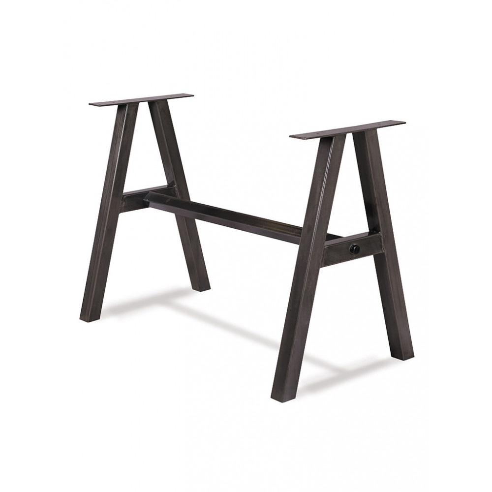 Promoline - Staal - Dubbel - Zwart - 51882 - Tafelonderstel / Tafelpoot
