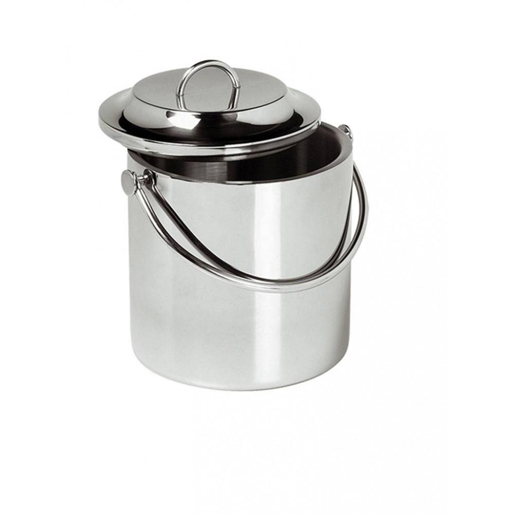 IJsblokjesemmer - RVS - 0.9 Liter - 140041