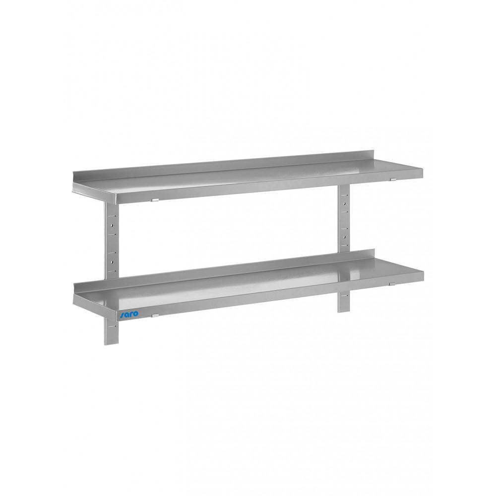 Wandschap - 2 Planken - 160 x 40 cm - Saro - 700-4540