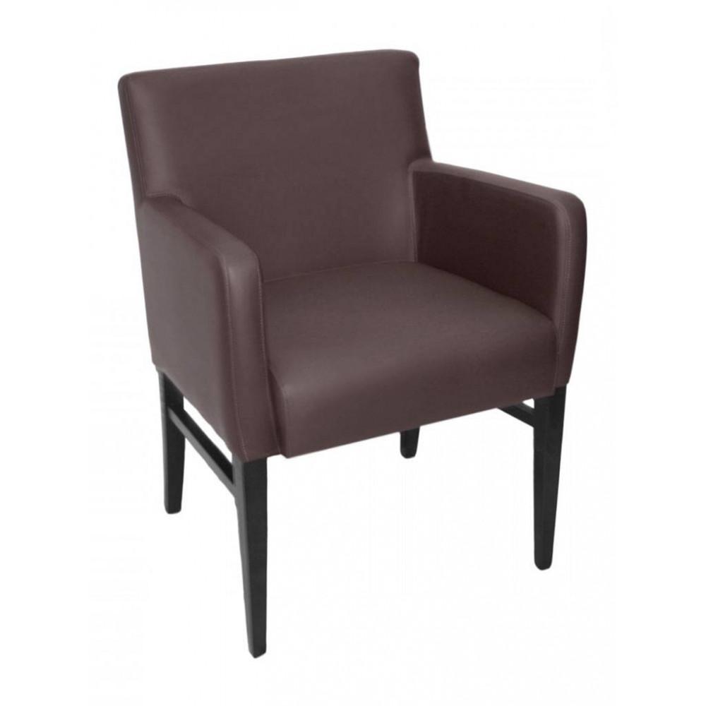 Horeca stoel - Andalusia - Bruin - Armleuning - Promoline