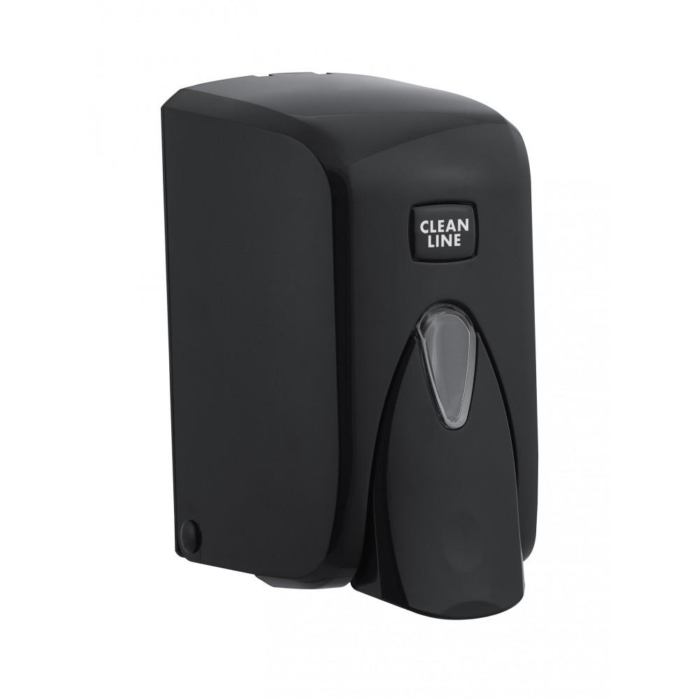Zeepdispenser - Universeel - 500ml - Zwart - Promoline - Cleanline