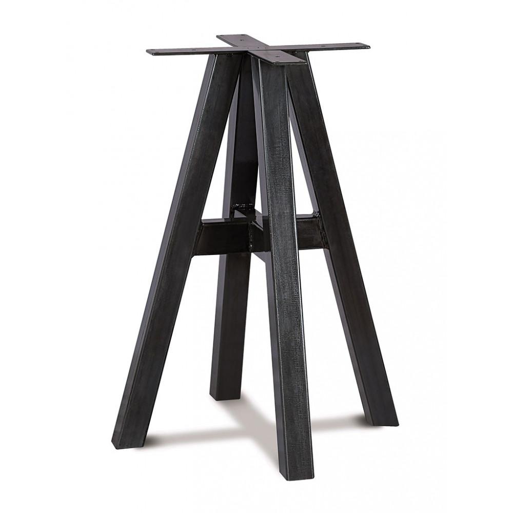 Tafelonderstel / Tafelpoot - Staal - Zwart - Promoline
