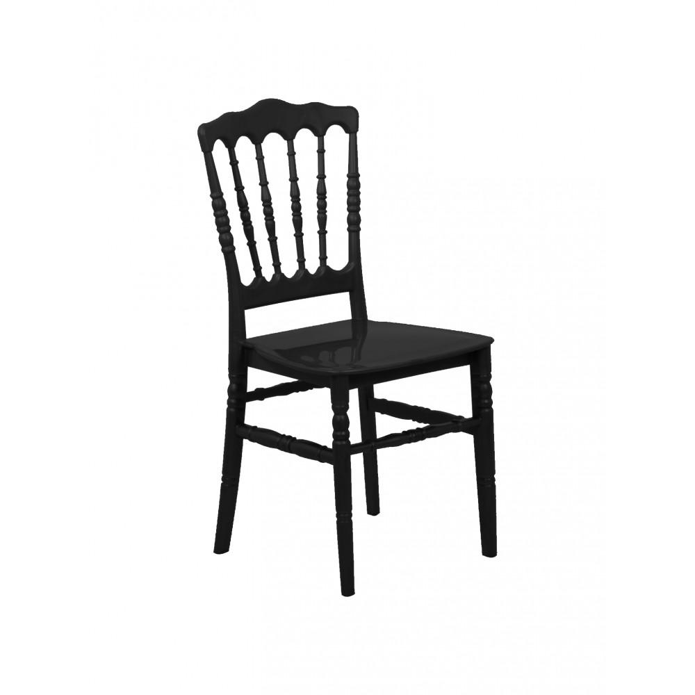 Horeca stoel - Napoleon - Zwart - Promoline
