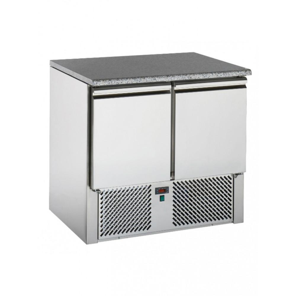 Koelwerkbank - 2 Deurs - Graniet - Tecnodom - SL02GR