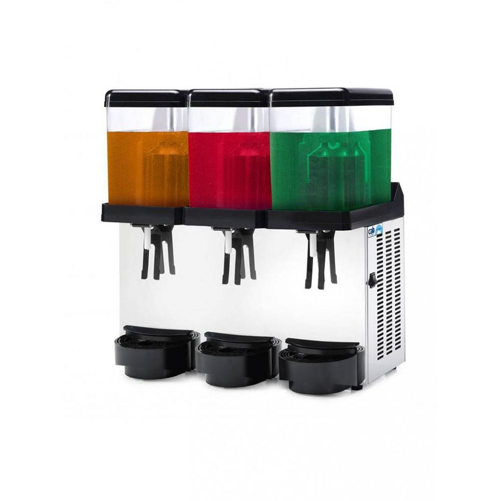 Koud drank dispenser - 3 x 12 liter - Led - DD12/3T - Diamond