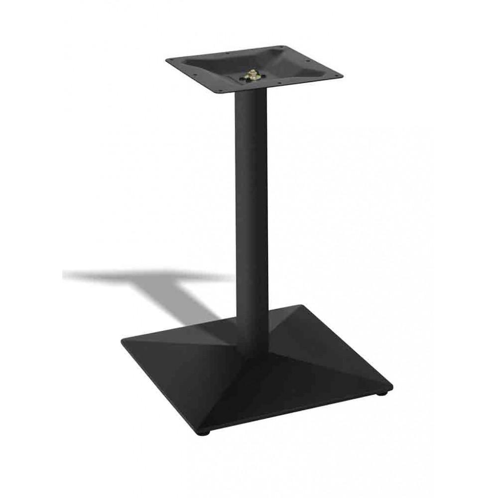 Tafelonderstel / Tafelpoot - Aluminium - Zwart - Promoline