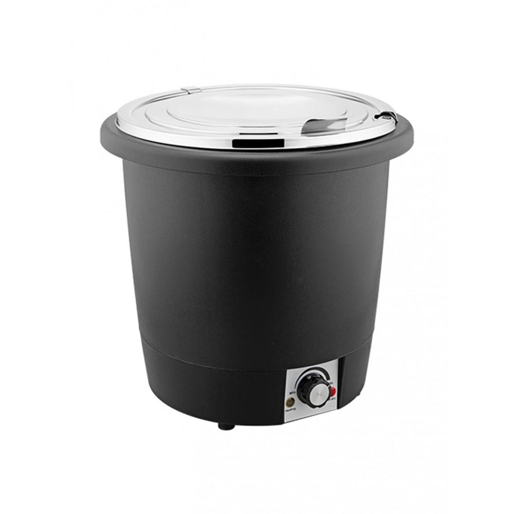 Soepketel - H 31 CM - 2.84 KG - Ø32.5 CM - 220 - 240 V - 450 W - Polypropyleen - 10 Liter - Met Lepeluitsparing - 861070