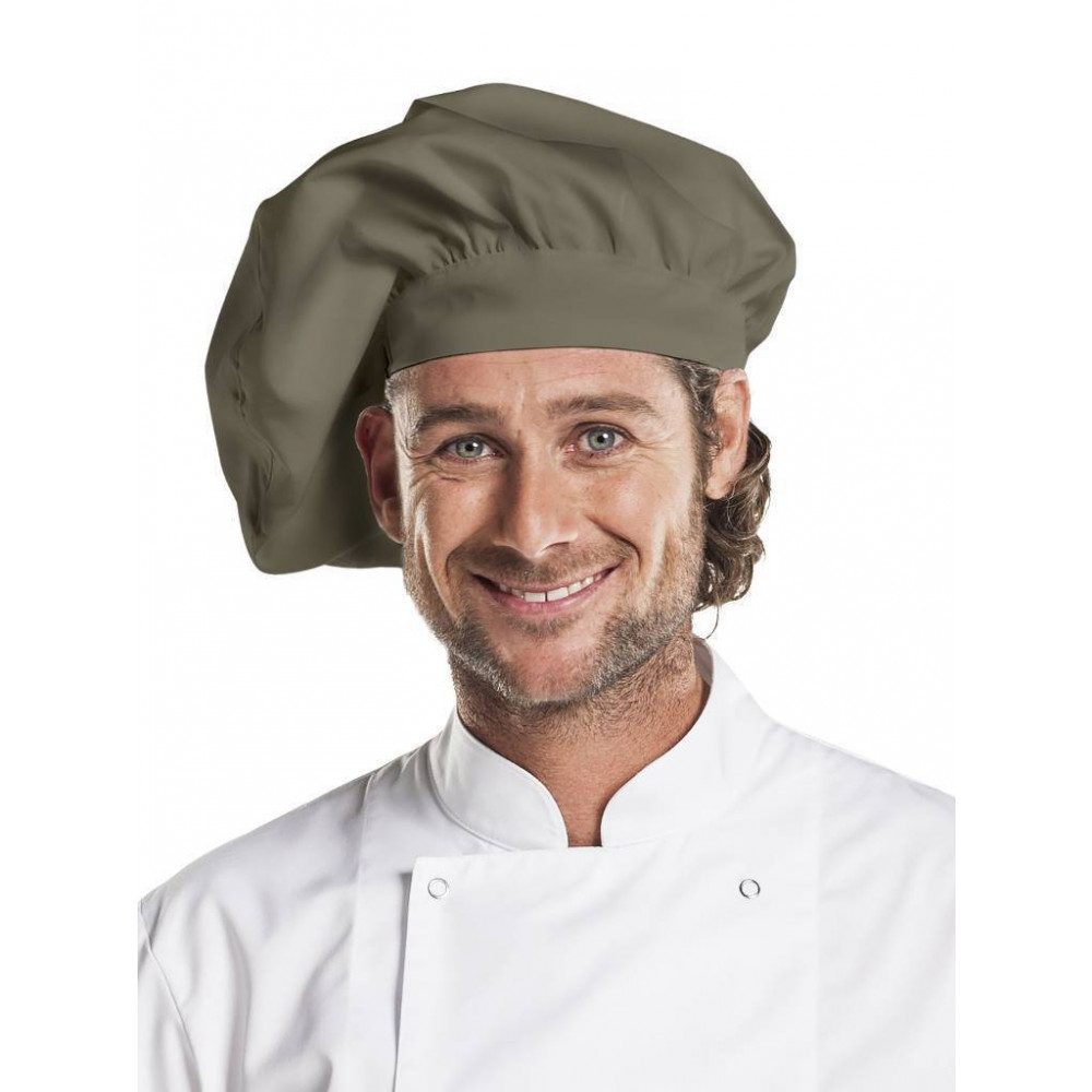 Chaud Devant - Chef Hat Dark Olive - Hoofddeksel - Maat One Size