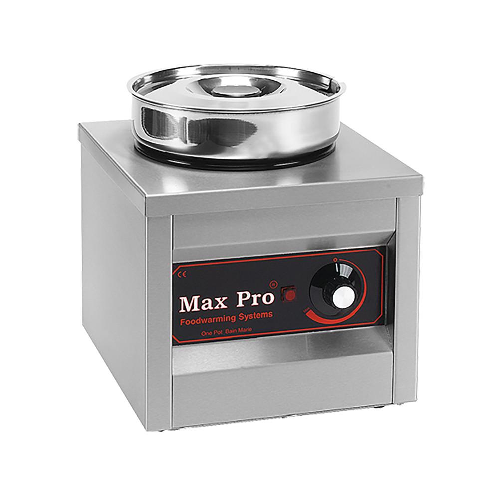 Chocolade Warmer - H 29 x 26.3 x 29 CM - 6.43 KG - 220 - 240 V - 250 W - RVS - 4.5 Liter - +2°C / +40°C - MaxPro - 921551