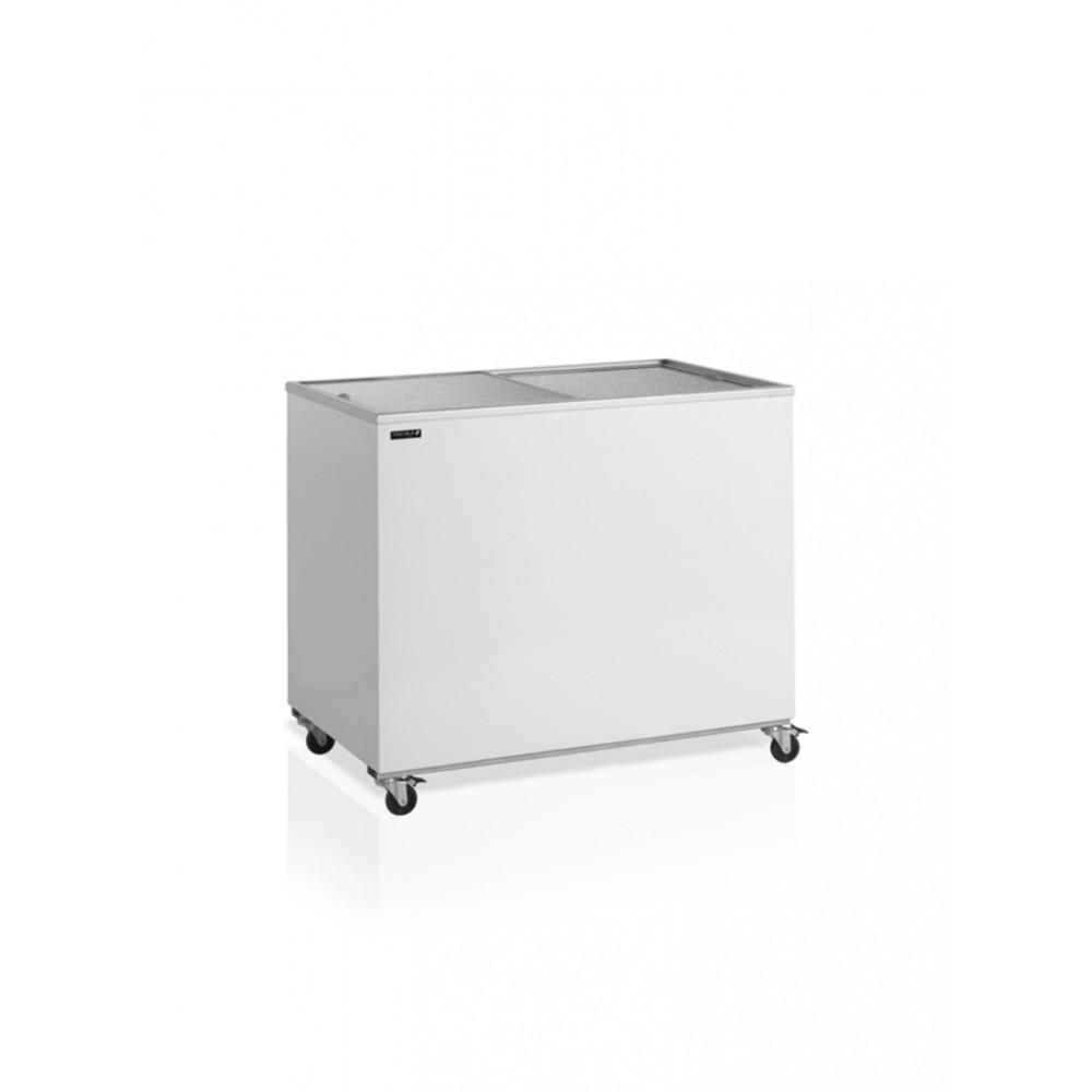 Tefcold - 401 liter - Glazen schuifdeur - IC400SC   IJsvitrine