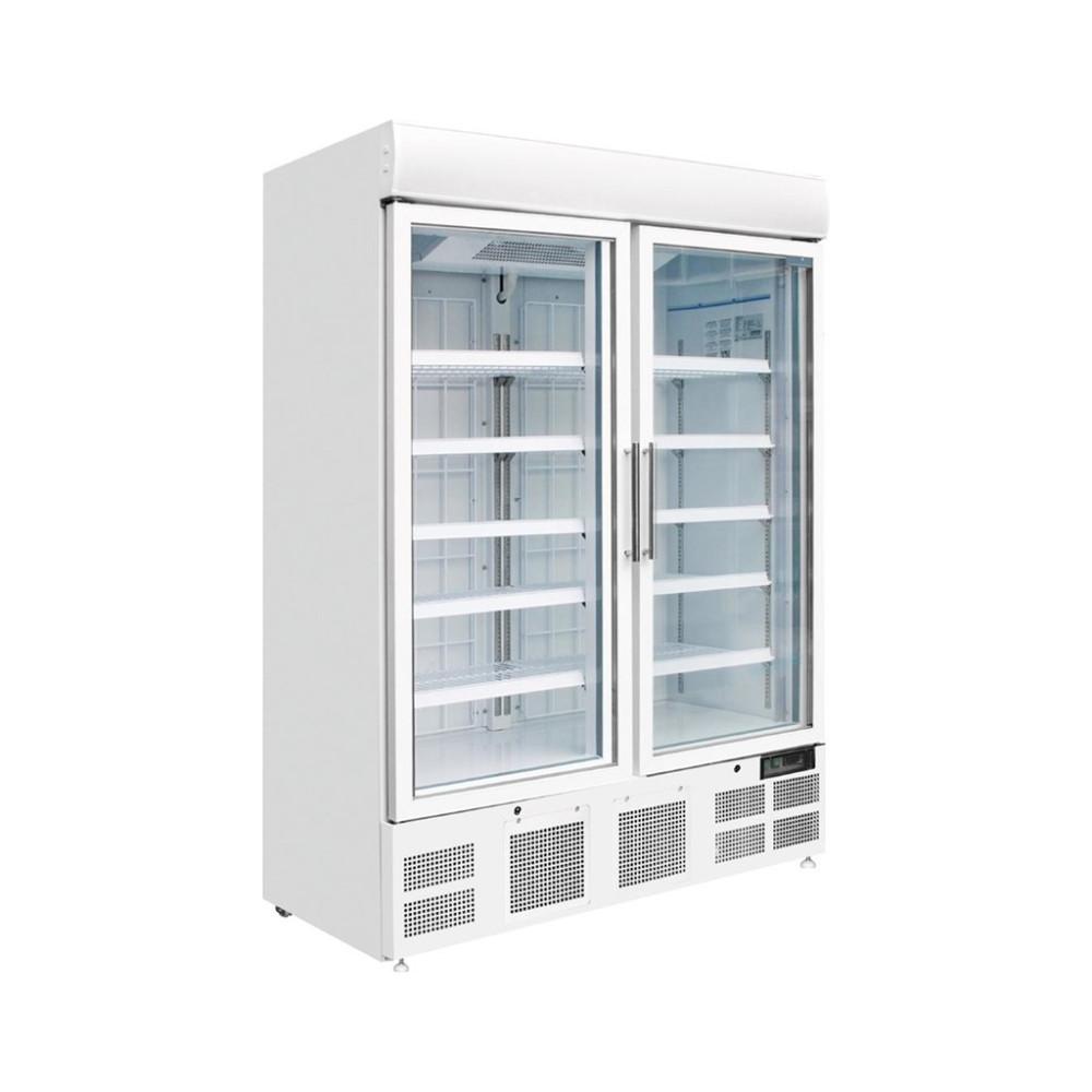 Display vriezer - Glazen deur met lichtkoof - 920ltr - Polar - GH507