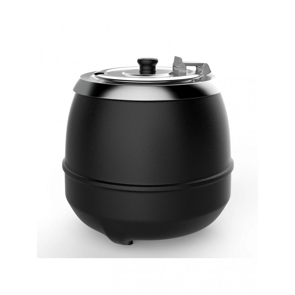 Soepketel - H 36.6 CM - 4.65 KG - Ø38.5 CM - 220 - 240 V - 475 W - Metaal - 10 Liter - Scharnierend Deksel - Bistro - 537108