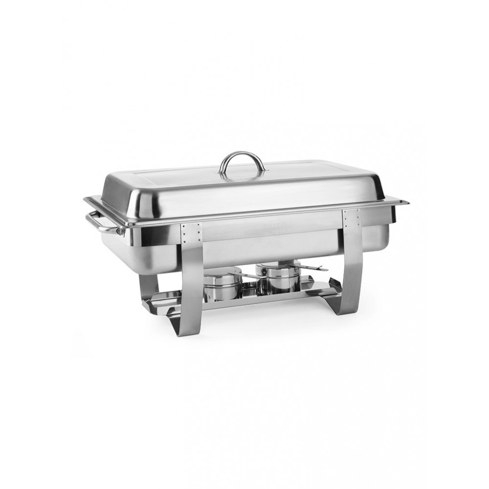 Chafing dish - 1/1 GN - Fiora premium - 9 liter - RVS - Hendi - 471005