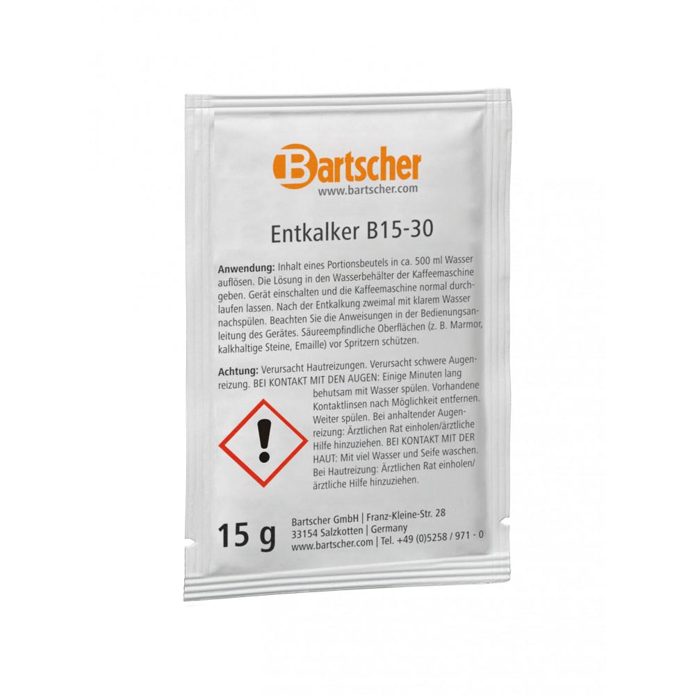Ontkalker koffiemachine - 30 x 15g - Bartscher - 190065