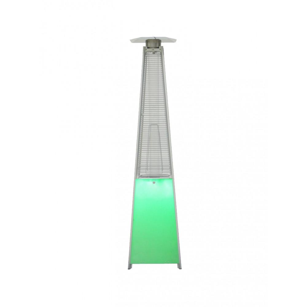 Terrasverwarmer / Terrasheater - Piramide - 13000 W - Propaan - Led verlichting - Promoline