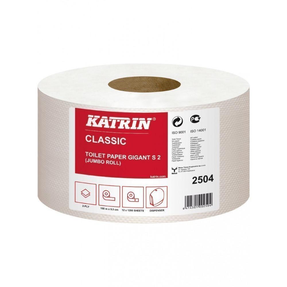 Toiletrol - Professionele kwaliteit - Gigant - S 2 - Pak van 12 rollen - Katrin