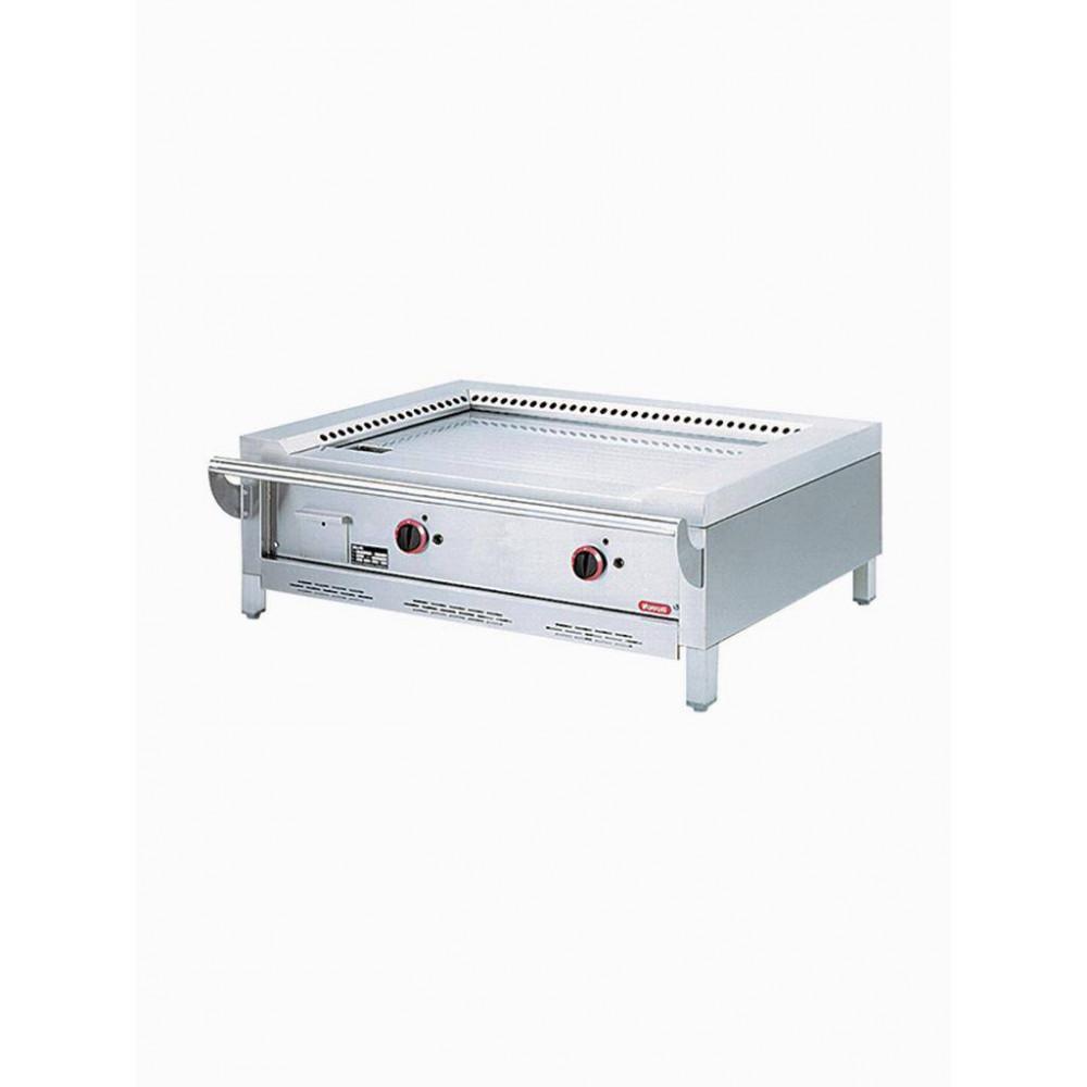 Gas teppanyaki 2 zones tafelmodel TPG2-12/T