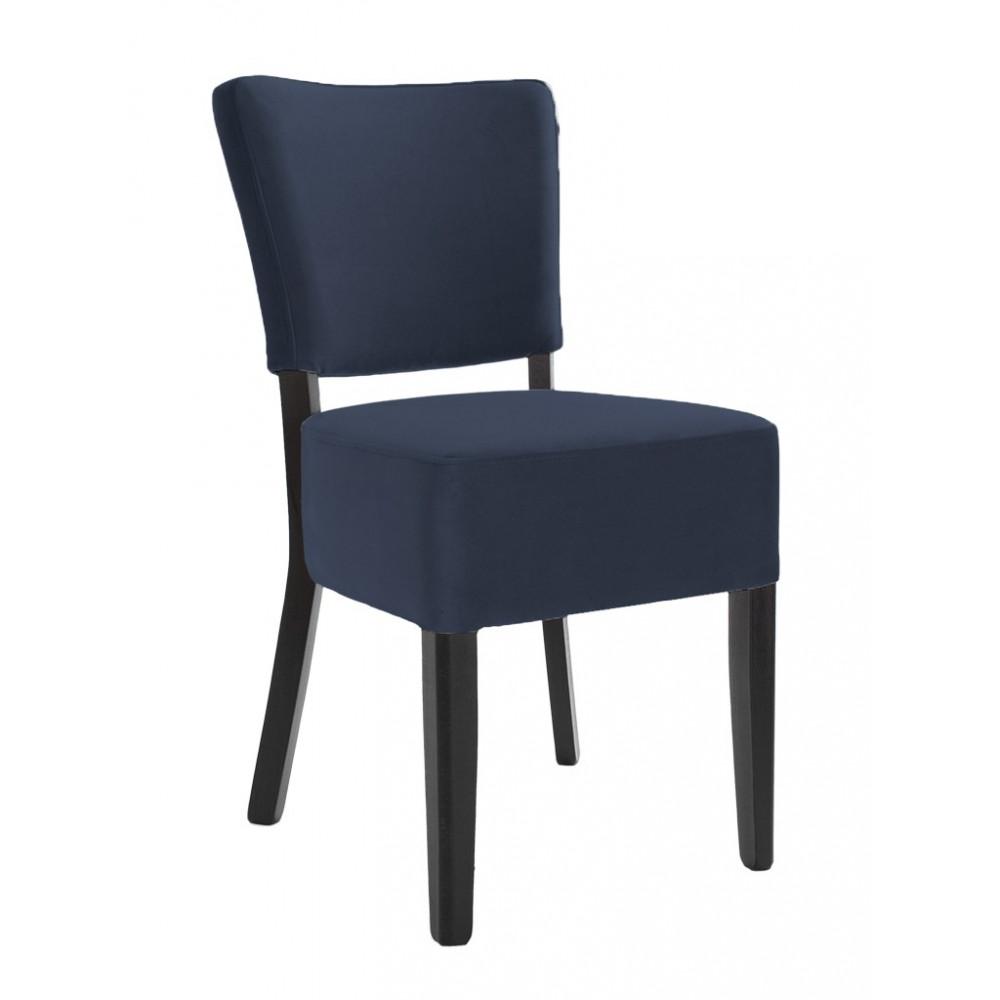 Horeca stoel - Rome - Velvet - Donkerblauw
