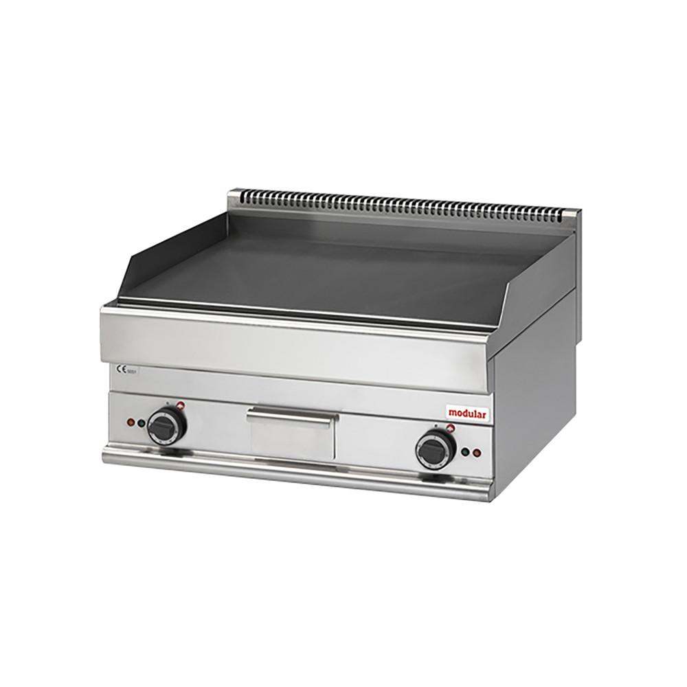 Bakplaat - H 28 x 70 x 65 CM - 51 KG - 9000 W - RVS - Glad - +50°C / +300°C - Modular - 316036