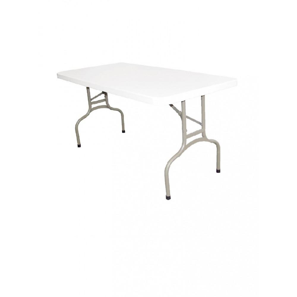 Rechthoekige inklapbare tafel 152cm - U544 - Bolero