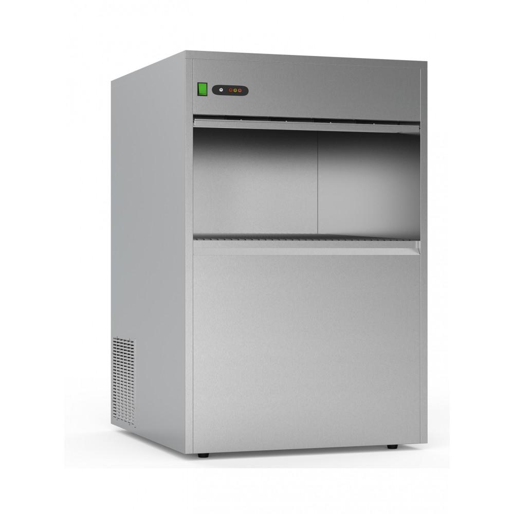 IJsblokjesmachine - 50 kg / 24u - Holle ijsblokjes - Luchtgekoeld - Promoline