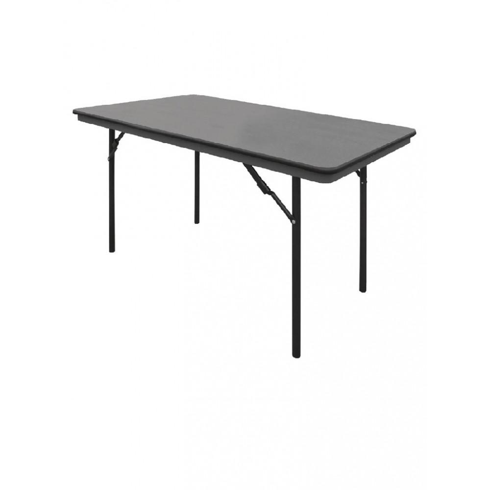 ABS rechthoekige inklapbare tafel 1,22m - GC594 - Bolero