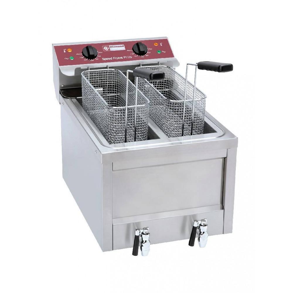 Elektrische friteuse - 2x 8 liter - FSM-2V5ET/S - Diamond