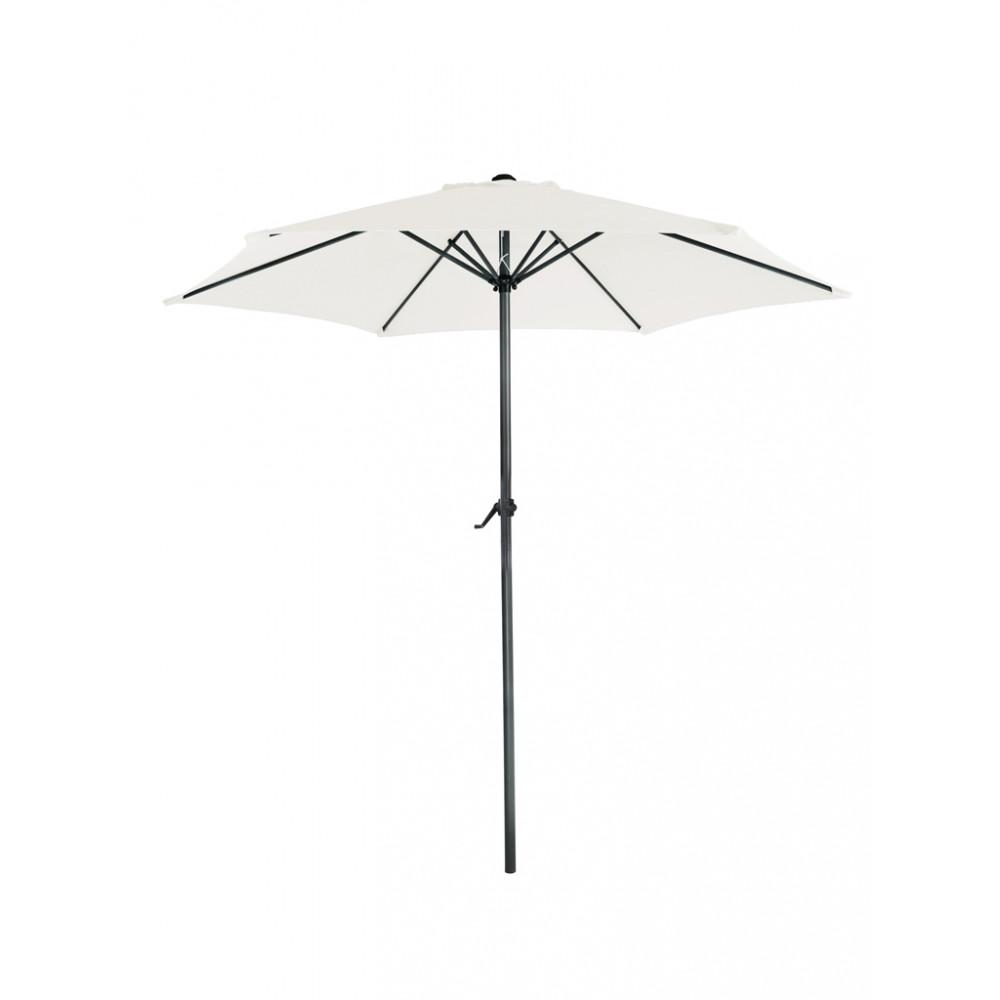 Parasol Mambo rond - 300 cm doorsnede - Beige
