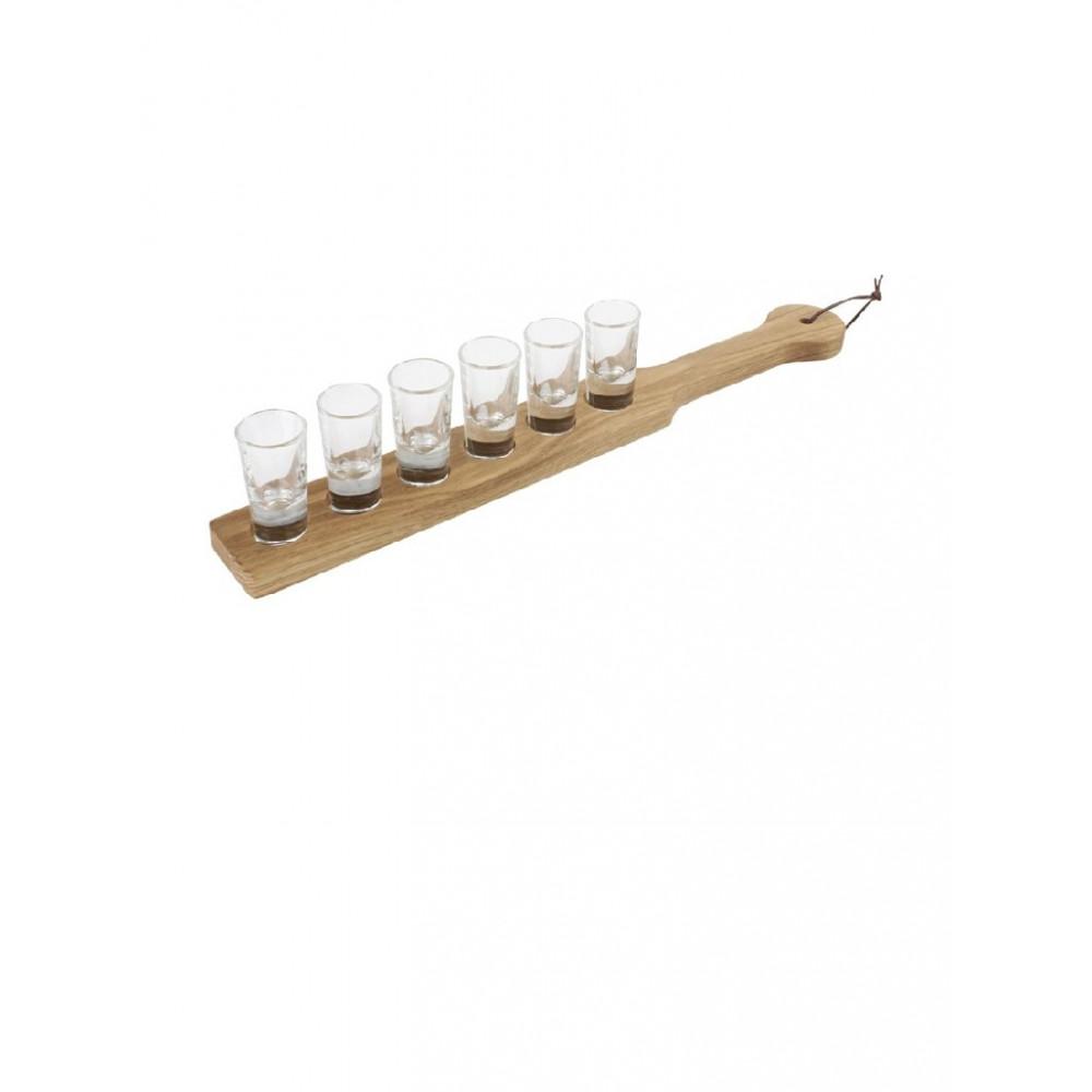 Olympia serveerplank voor shotglazen - CN508