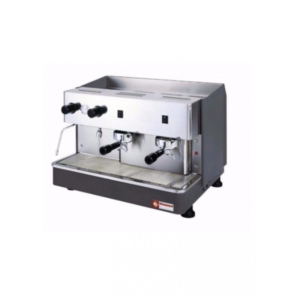 Geheel koffiemachine - 2 groepen - half-automatisch - Waterontharder - Compact Line - COMPACT/2P+DVA8 - Diamond