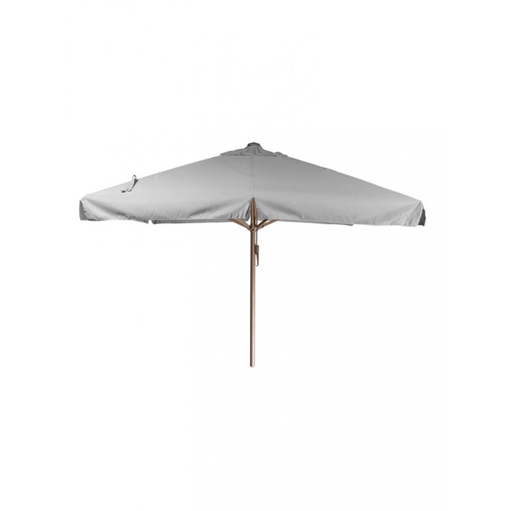Horeca parasol - 400x400 cm - Grijs - Karin