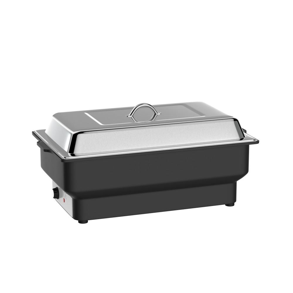 Chafing Dish - Elektrisch - RVS - Zwart - 230 V - 900 W - Promoline