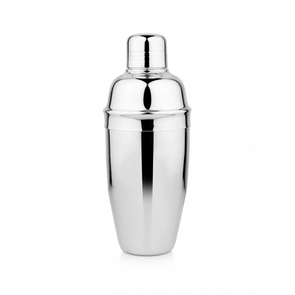 Cocktail Shaker - Deluxe - 0.5 Liter - RVS - Promoline
