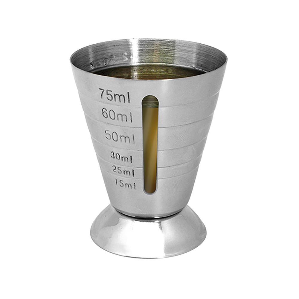 Barmaat - H 7 CM - 0.078 KG - Ø5.6 CM - RVS - Vin Bouquet - 220030
