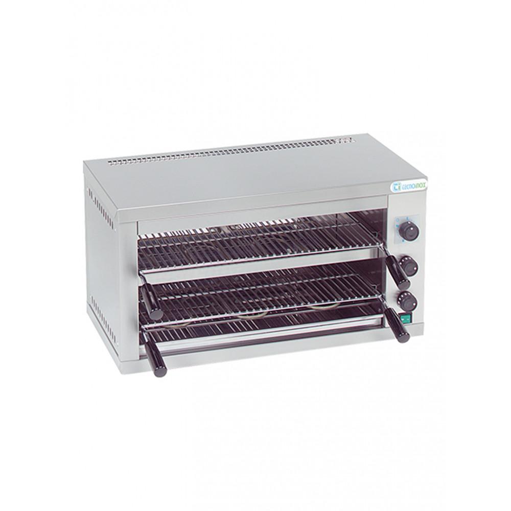 Salamander/Toaster - Dubbel - RVS - Tecnolnox - 502305