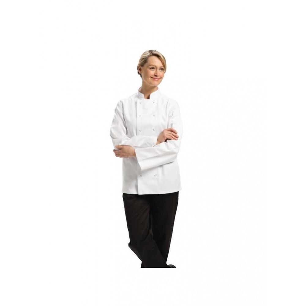 Vegas koksbuis - Wit - Lange Mouw - Whites Chefs Clothing