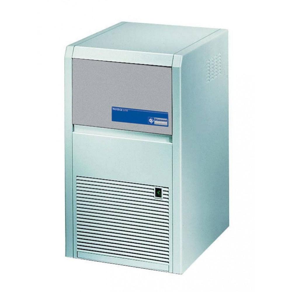 Diamond 22 kg / 24u - Volle ijsblokjes - Luchtgekoeld - RVS uitvoering | Volle ijsblokjesmachine