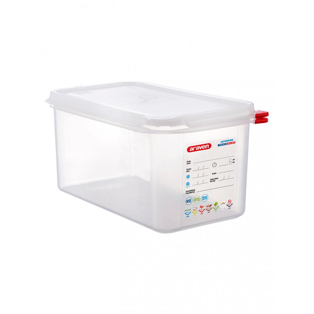 Voedseldoos - 1/3 GN - 150 mm diep - Polypropyleen - Promoline