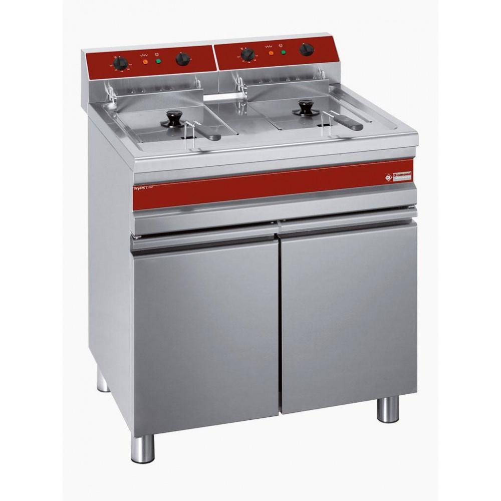 Horeca friteuse - Fryers Line - 2x 14 liter - 400V - F14+14E/M - Diamond